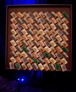 Key Raffle Board