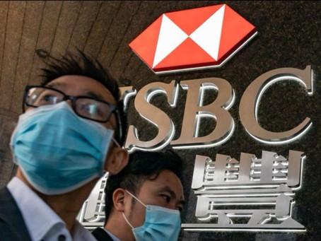 HSBC Sees Profits Decline by 50%