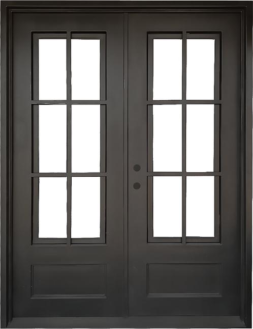 """72""""x96""""Double Entry Iron Door"""