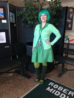 Green In Day - Karen Simeone