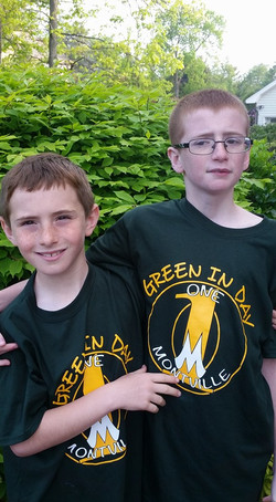 Green In Day Shirts
