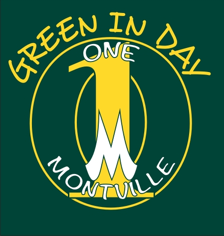 OneMontville Green In Day Logo