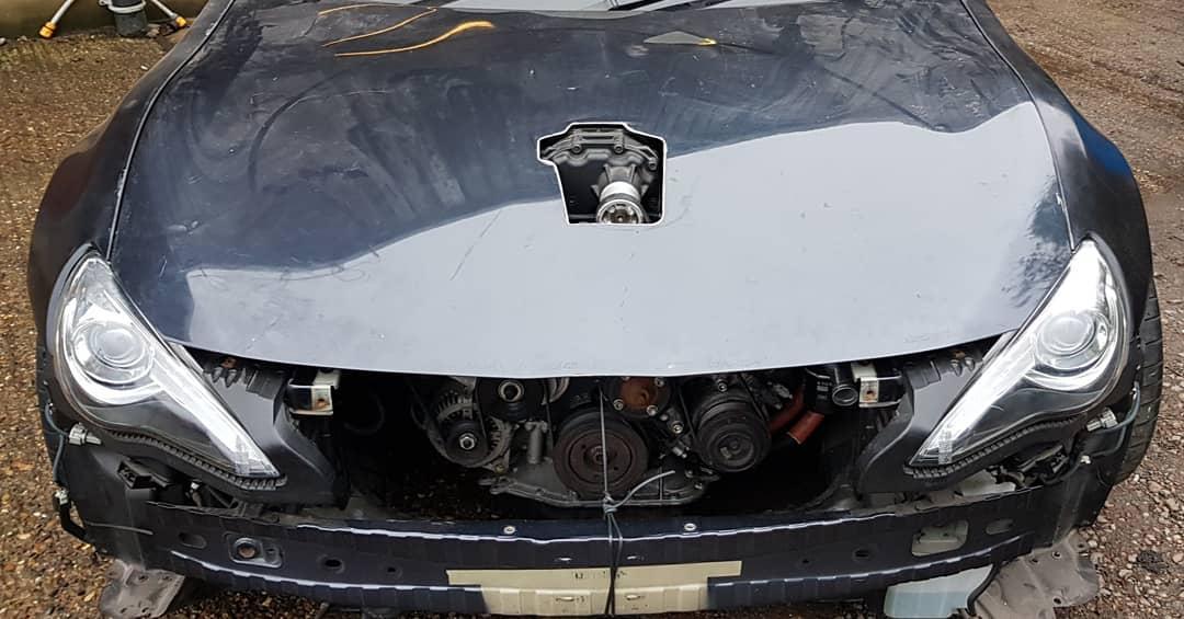 GT86 Bonnet 1