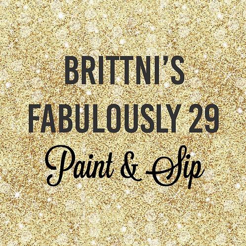 """""""Brittni's"""" PRIVATE PARTY   Saturday, June 12, 2021  2 pm"""