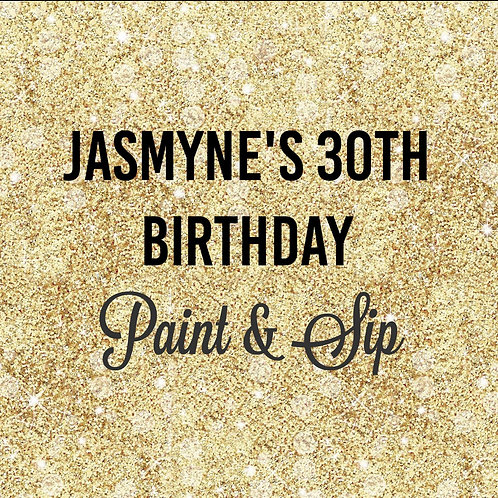 """""""Jasmyne's"""" PRIVATE PARTY 