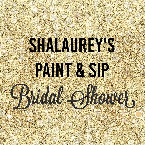 """""""Shalaurey's"""" PAINT & SIP   Saturday, June 19,  2021   3 pm"""