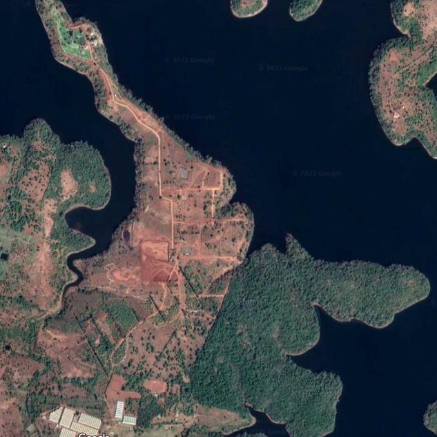 Google Maps satellite image of Vedaland.