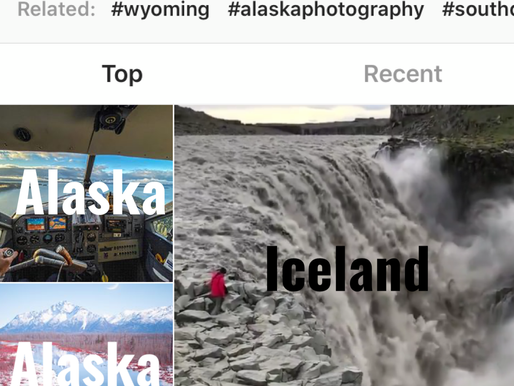 What countries are stealing Alaska's Instagram views? Norway, Sweden, Finland, Iceland...