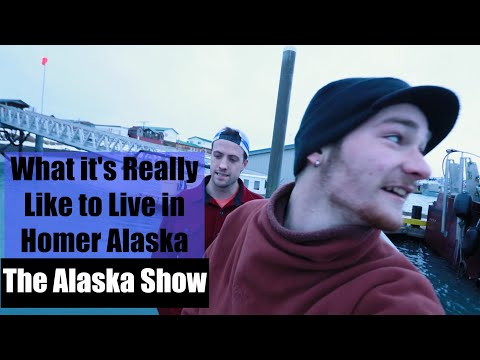 What it's REALLY like to Live in Homer, Alaska in the Winter