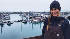 Deenaalee Alaska Native deckhand for the bristol bay salmon fishery