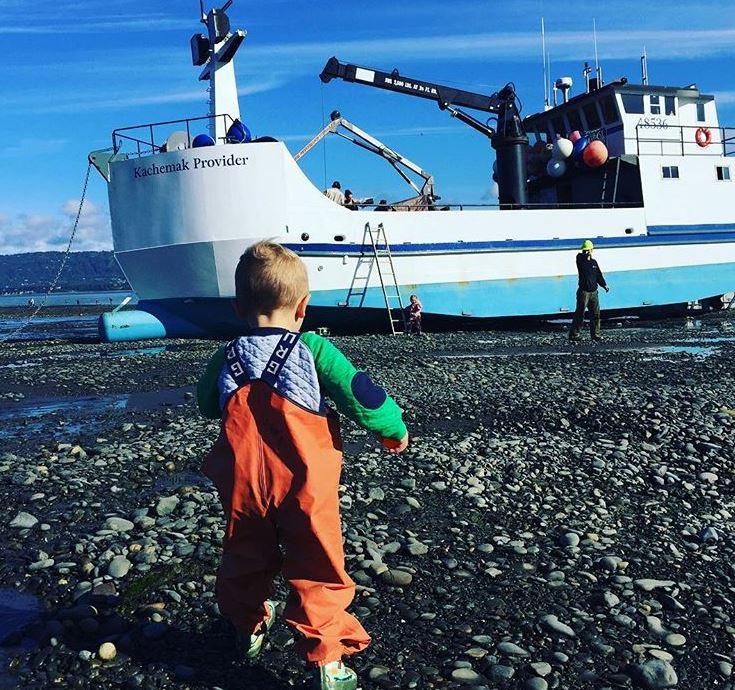 family fishing in alaska bristol bay naknek homer