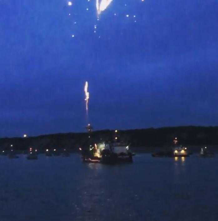 boat fireworks alaska bristol bay fourth of july