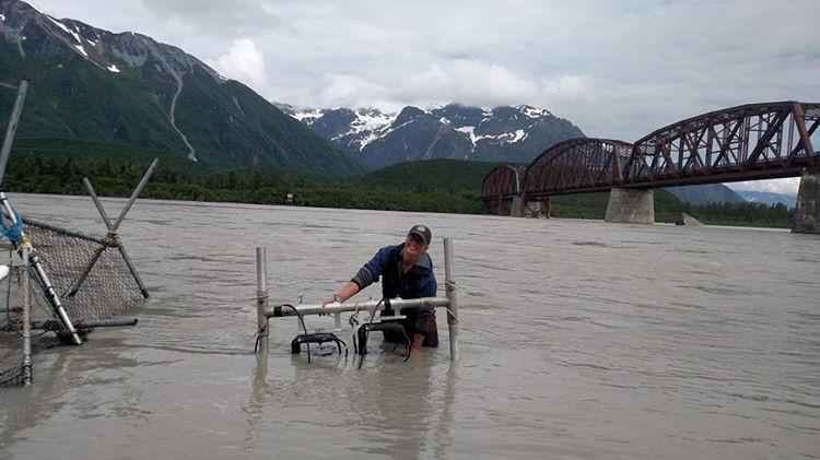 copper river alaska fish technician job