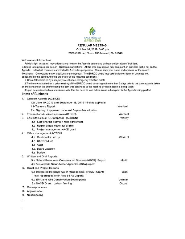 Oct. 16, 2019 EMRCD agenda.png