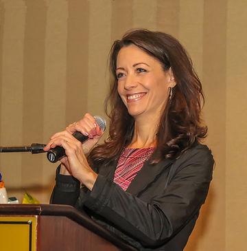 Photo of Stacia speaking
