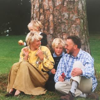La famille Ruzette au complet
