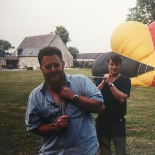 Christophe et ses montgolfières