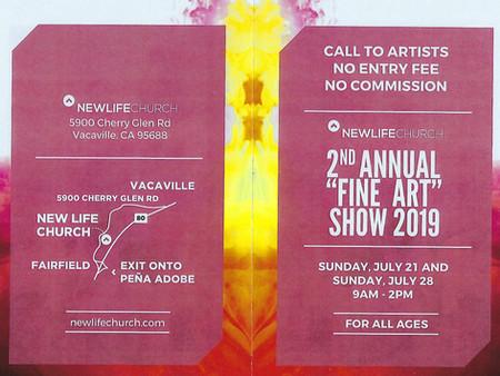 2nd Annual Fine Art Show - 2019