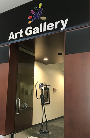 FSVAA Art Gallery Sign and Carson.jpg