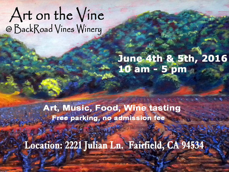 Art on the Vine is set for 2016