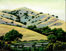 Jeanine_Demont_Oil_Rolling_Hills_of_Fair