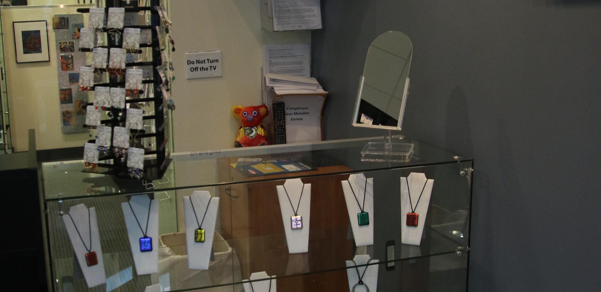 Ceramic & Glass jewelry