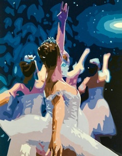 Ron_Hall_Acrylic_2nd_Dancing_In_A_Snow_G
