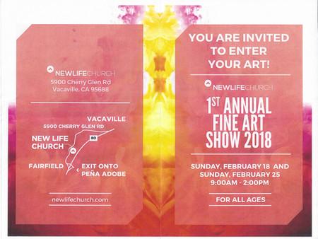 1st Annual Fine Art Show 2018