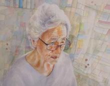 Misuk_Goltz_Watercolor_1st_My 93 Year Ol