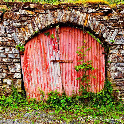 Eamons Door Rearcross Ireland-Photograph