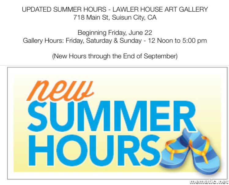 **Please Note: Summer Hours Have Been Updated