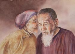 Misuk_Goltz_Watercolor_3rd_Old_Friends_M