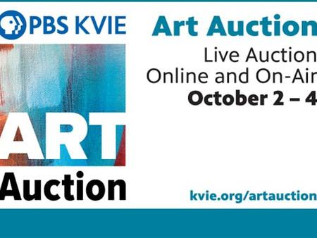 PBS KVIE Art Auction - October 2 - 4, Channel 6