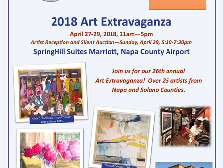 American Canyon Arts Foundation - 2018 Art Extravaganza