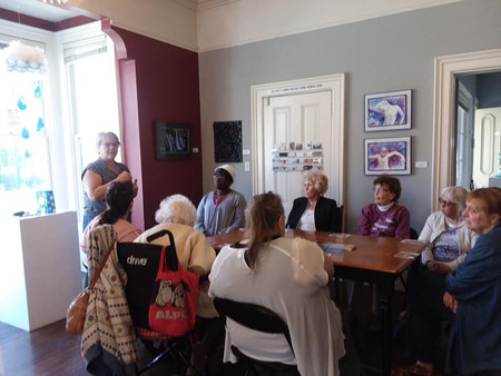 Art, Book and Travel Club Visit