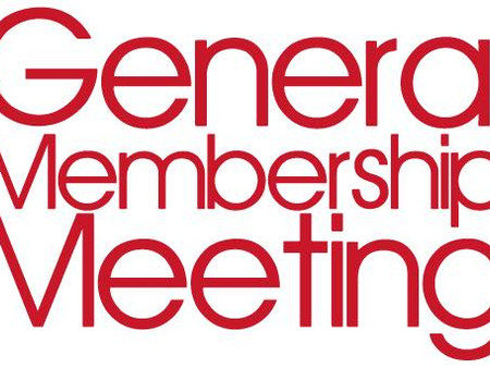 GENERAL MEMBERSHIP MEETING /CRITIQUE NIGHT
