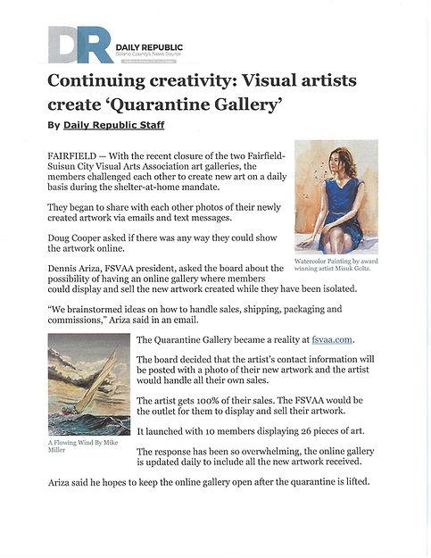 Daily Republic - Continuing Creativity V