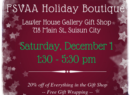 FSVAA Holiday Boutique - 2018