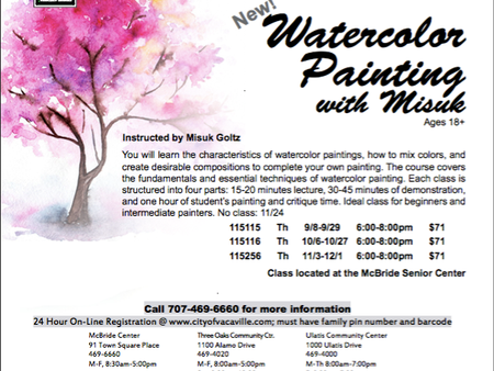 Essential Watercolor for the Fall