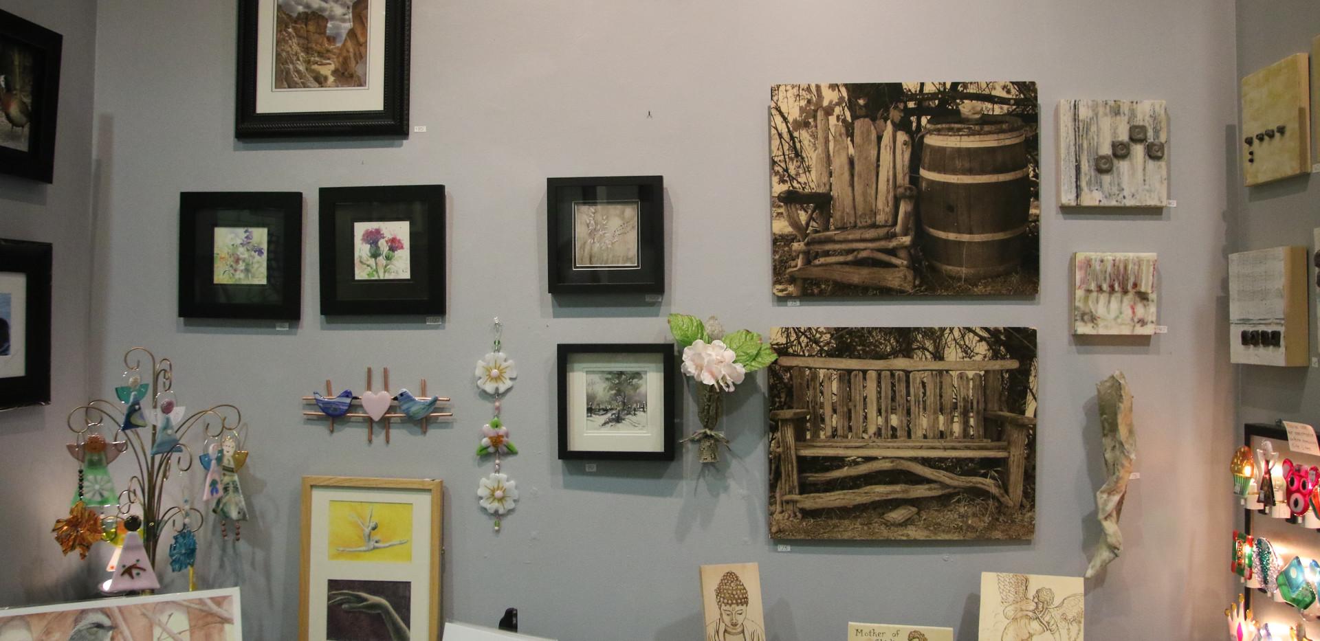 Paintings, Photographs, Wood Burning