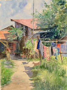 Misuk_Goltz_Watercolor_2nd_Summer Day in