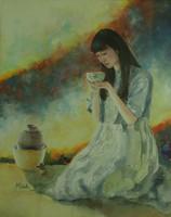 Tea Ceremony-Watercolor