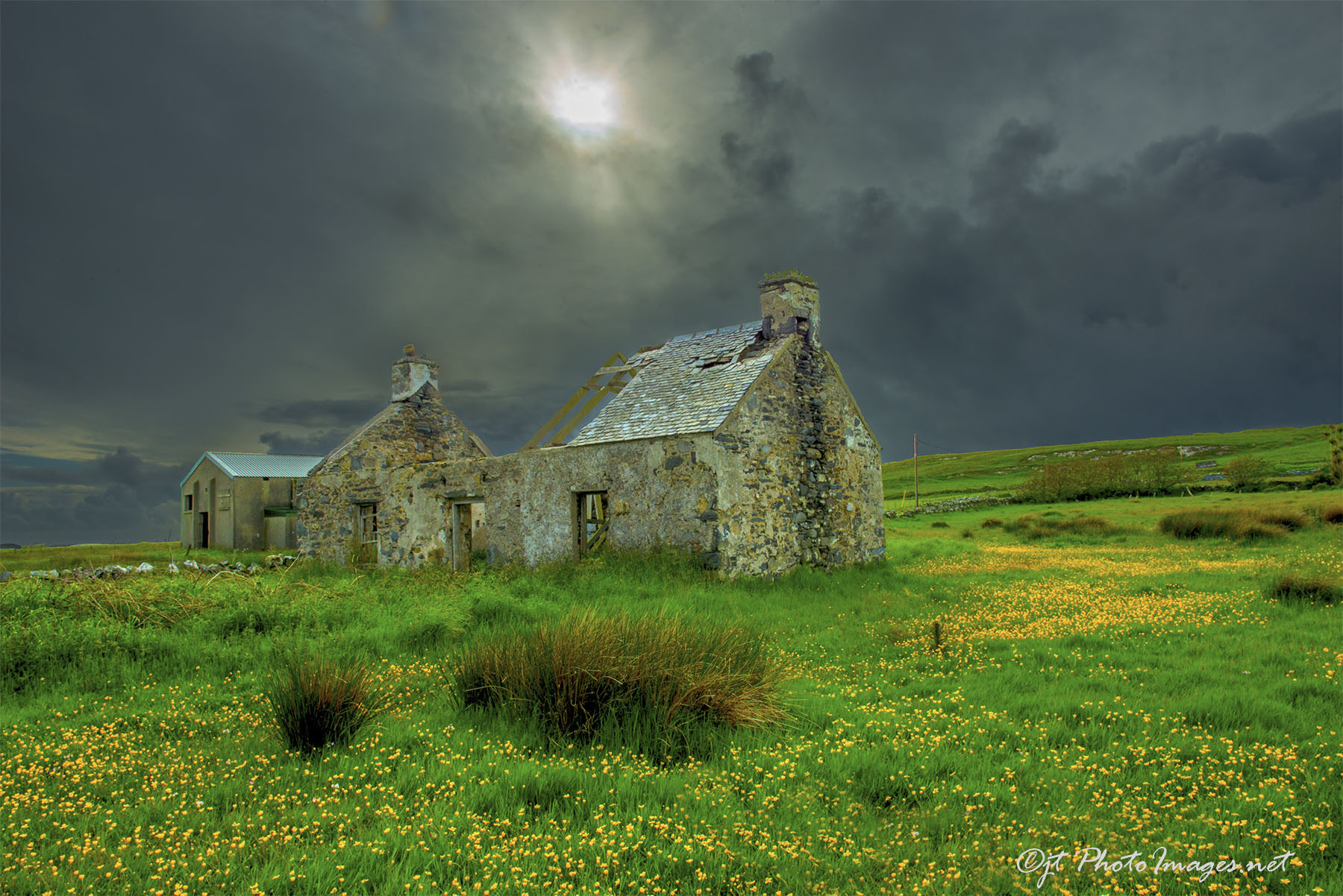 Abandoned Cottage ISLAY SCOTLAND #1 (Jun