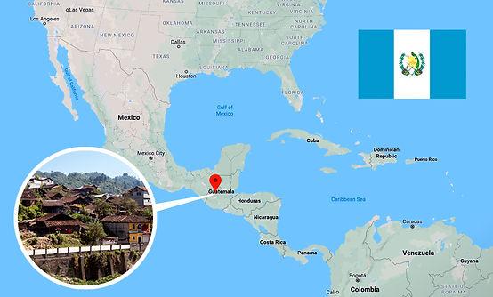 map chajul guatemala