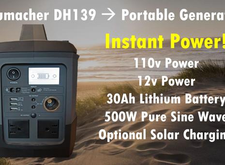 "Lithium Battery ""Generator"""