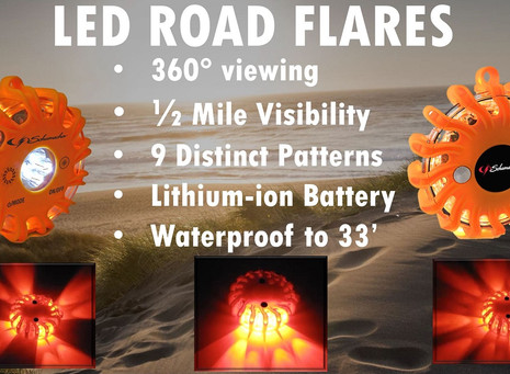 LED Road Flares....What a Great Idea