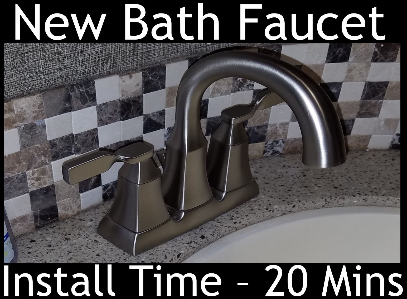 Bathroom Faucet Upgrade | RV With The Tanners - Welcome to Our Blog