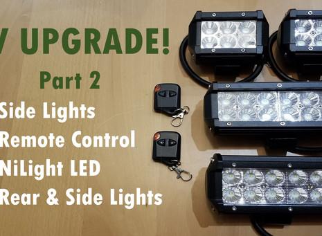Side Lights - Adding More Backup/Security Lights