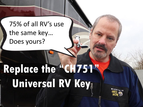 Does your RV have a shared key??  Ours did...