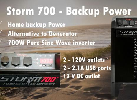 Storm 700 - Emergency Power